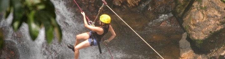 Rapel na Cachoeira - Barreiras BA